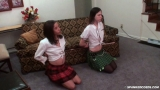 Amber & Daija: School Girl Punishment (Part 1) 3