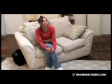 Daija Spanked for Wearing Jeans 4