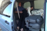 Daija: OTK Spanking in the Van 4