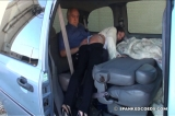 Daija: OTK Spanking in the Van 2