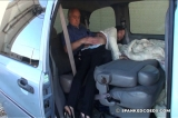 Daija: OTK Spanking in the Van 3